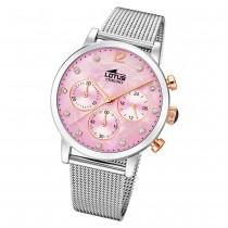 LOTUS Damen Armbanduhr Trendy 18676/2 Quarz Edelstahl silber UL18676/2