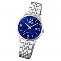 LOTUS Damen Armbanduhr Classic 18698/4 Quarz Edelstahl silber UL18698/4