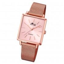 LOTUS Damen Armbanduhr Trendy 18720/1 Quarz Edelstahl rosegold UL18720/1
