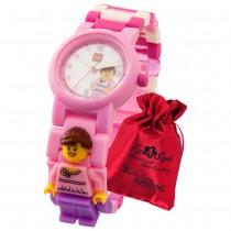 LEGO Classic Figur Pink Lady 8020820 Kinder-Uhr mit Säckchen ULE8020820