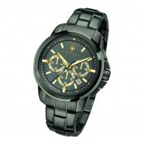 Maserati Herren Armbanduhr Successo Chrono Edelstahl grau UMAR8873621007