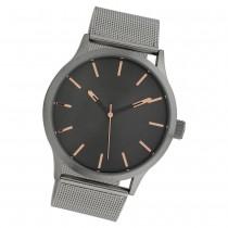 Oozoo Herren Armbanduhr Timepieces C10056 Quarz Stahl silber UOC10056