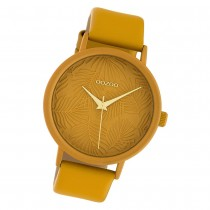 Oozoo Damen Armbanduhr Timepieces C10172 42mm Quarz Leder gelb UOC10172