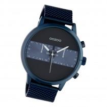 Oozoo Herren Armbanduhr Timepieces C10511 Analog Edelstahl blau UOC10511