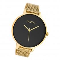 Oozoo Damen Armbanduhr Timepieces C10553 Analog Edelstahl gold UOC10553