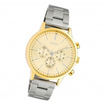Oozoo Damen Armbanduhr Timepieces C10562 Analog Edelstahl silber UOC10562