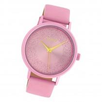 Oozoo Damen Armbanduhr Timepieces C10579 Analog Leder rosa UOC10579