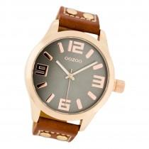 Oozoo Damen Armbanduhr Timepieces C1156 Analog Leder rot UOC1156