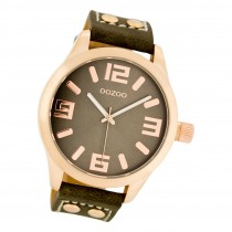 Oozoo Damen Armbanduhr Timepieces C1158 Analog Leder braun UOC1158