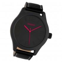 Oozoo Damen Armbanduhr Timepieces C1068 Quarz Leder schwarz UOC7119
