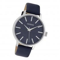 Oozoo Damen Armbanduhr Timepieces C9753 Analog Leder dunkelblau UOC9753