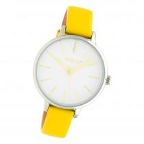 Oozoo Damen Armbanduhr Timepieces JR312 Analog Leder gelb UOJR312