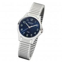 Regent Damen Armbanduhr Analog 2242416 Quarz-Uhr Metall silber UR2242416
