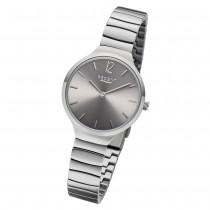 Regent Damen Armbanduhr Analog BA-554 Quarz-Uhr Edelstahl silber URBA554