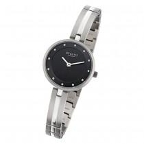 Regent Damen-Armbanduhr 32-F-1102 Quarz-Uhr Titan-Armband silber URF1102