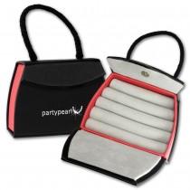 PartyPearl Schmuck-Tasche Armband, Ketten Schmuckschachtel 110x80mm VE261