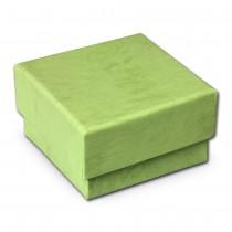 SD Schmuckschachtel hellgrün Geschenk-Verpackung 40x40x25mm VE3042L