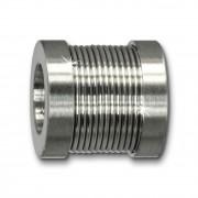 Amello Megabeads Edelstahl Bead Zylinder Armbandbead AMB237W