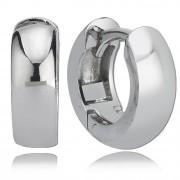 Balia Creolen für Damen glänzend aus 925 Silber BAO0004SS