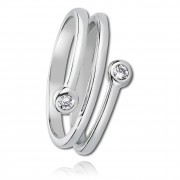 Balia Damen Ring aus 925 Silber mit Zirkonia Gr.56 BAR001W56