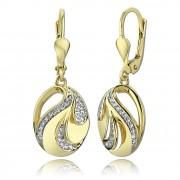 Balia Damen Ohrhänger aus 333 Gelbgold mit Zirkonia BGO0023GW