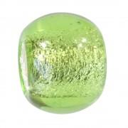 Carlo Biagi Bead Glas hellgrün European Beads BBGMB08