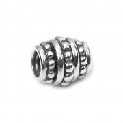 Carlo Biagi Bead Zylinder 925 Silber European Beads BBS167