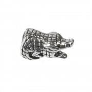 Carlo Biagi Bead Alligator Silber European Beads BBS225