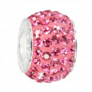Carlo Biagi Swarovski Elements Bead Ring rosa BBSCR01P