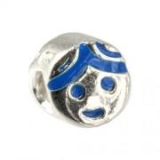 Carlo Biagi Kidz Bead Junge Silber Beads für Armband KBE040