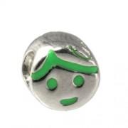 Carlo Biagi Kidz Bead Mädchen grün 925 Beads für Armband KBE041