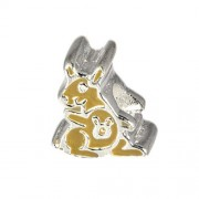 Carlo Biagi Kidz Bead Känguru 925 Beads für Armband KBE075