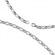 Carlo Biagi Charms Halskette 45cm 925 Silber CNSLA45