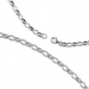 Carlo Biagi Charms Halskette 50cm 925 Silber CNSLA50