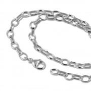 SilberDream Sterling Silber Charm Bettel Halskette 42cm FC0020