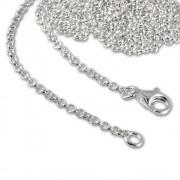 SilberDream Sterling Silber Charm Kette Halskette 80cm FC00298-1