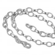 SilberDream Sterling Silber Charm Bettel Halskette 50cm FC0122