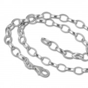 SilberDream Sterling Silber Charm Bettel Halskette 55cm FC0123