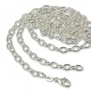 SilberDream Pico Charm Halskette 925 Silber 70cm für Charms FC0424