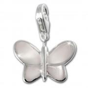 SilberDream Charm Schmetterling perlmutt weiß 925er Silber FC1041W