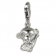 SilberDream Charm Affe Armband Anhänger 925 Sterling Silber FC1044