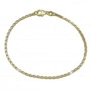 GoldDream Armband Zopf 375 Gelbgold Damen 18cm GDA0508Y