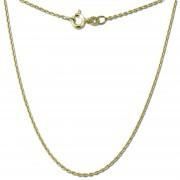 GoldDream Damen Colliers Halskette 55cm Gelbgold 8 Karat GDKB00155Y