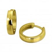 GoldDream Creole Glanz Ohrring 333er Gelbgold Echtschmuck GDO5051Y