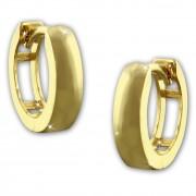 SilberDream Creole Glanz 13mm Ohrring 333er Gelbgold Echtschmuck GDO5141Y