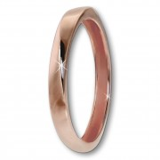 GoldDream Gold Ring Gr.56 Twist 333er Rosegold GDR522E56