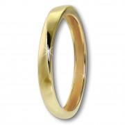 GoldDream Gold Ring Gr.56 Twist 333er Gelbgold GDR522Y56