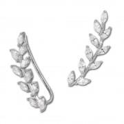 SilberDream Ear Cuff Ranke Zirkonia Ohrringe Ohrklemme 925 Silber GSO429W