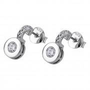 LOTUS Silver - Damen Ohrring Zirkonia weiß Ohrstecker aus 925 Silber JLP1546-4-1