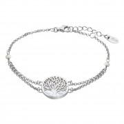 LOTUS Silver - Damen Armband Lebensbaum perlmutt aus 925 Silber JLP1678-2-1